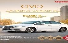 Honda Civic Sedan. Şimdi al, Mart 2016'da öde!